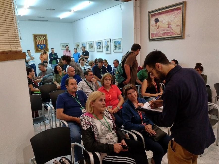 Reunión con las asociaciones y entidades de Crevillent para preparar la Estrategia DUSI
