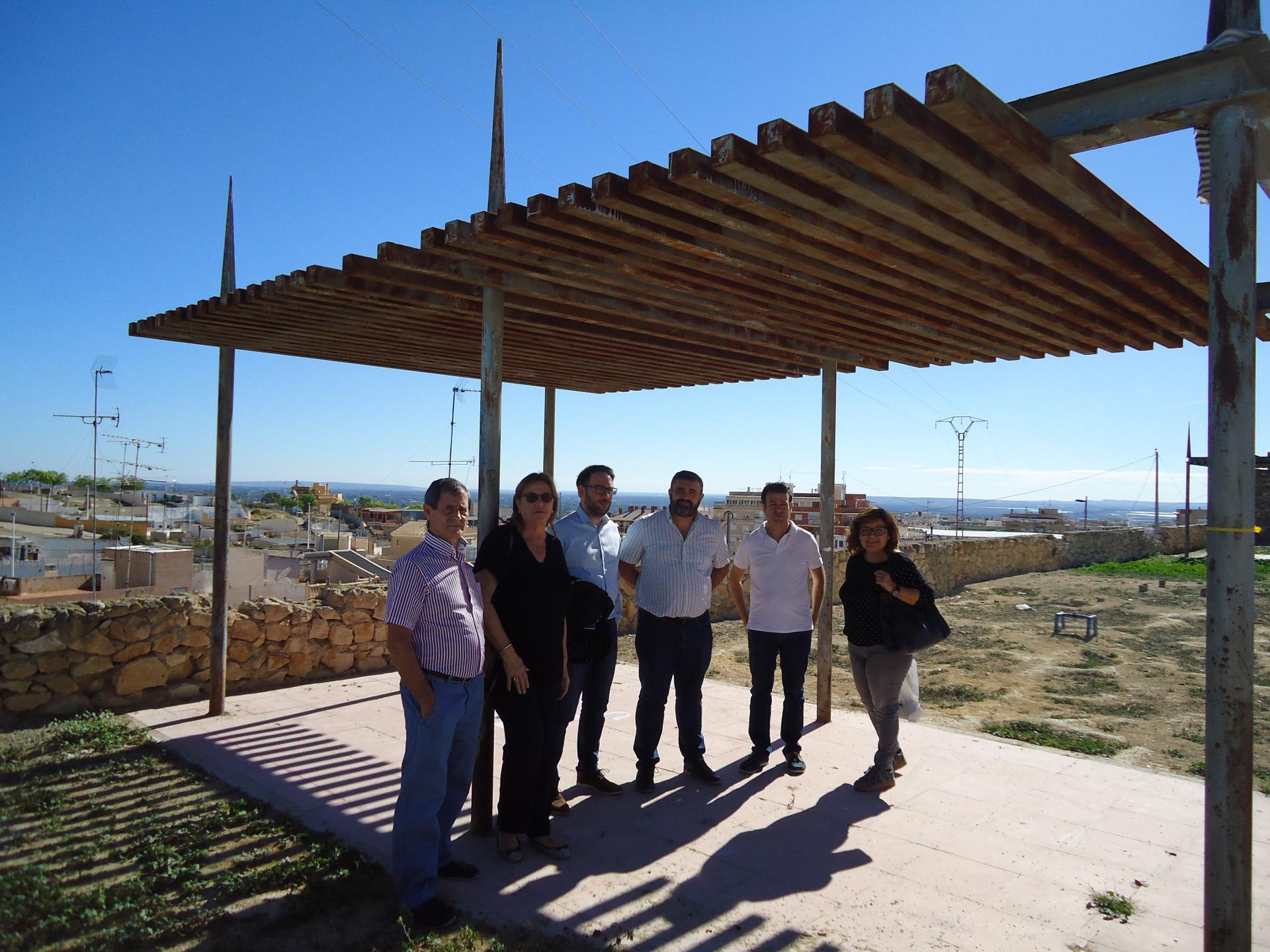 Visita grupos políticos zona norte de Crevillent 1