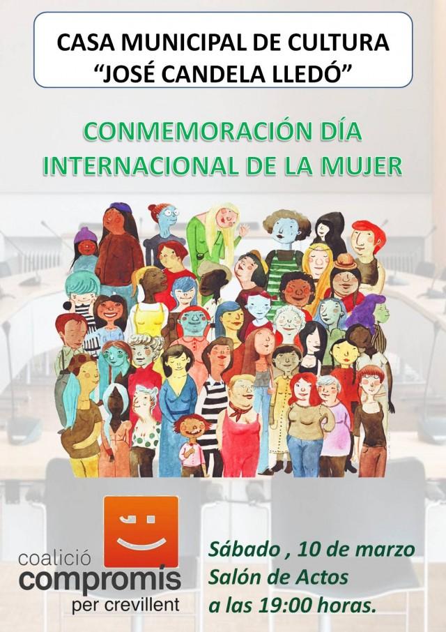 CONMEMORACIÓN DÍA INTERNACIONAL DE LA MUJER.