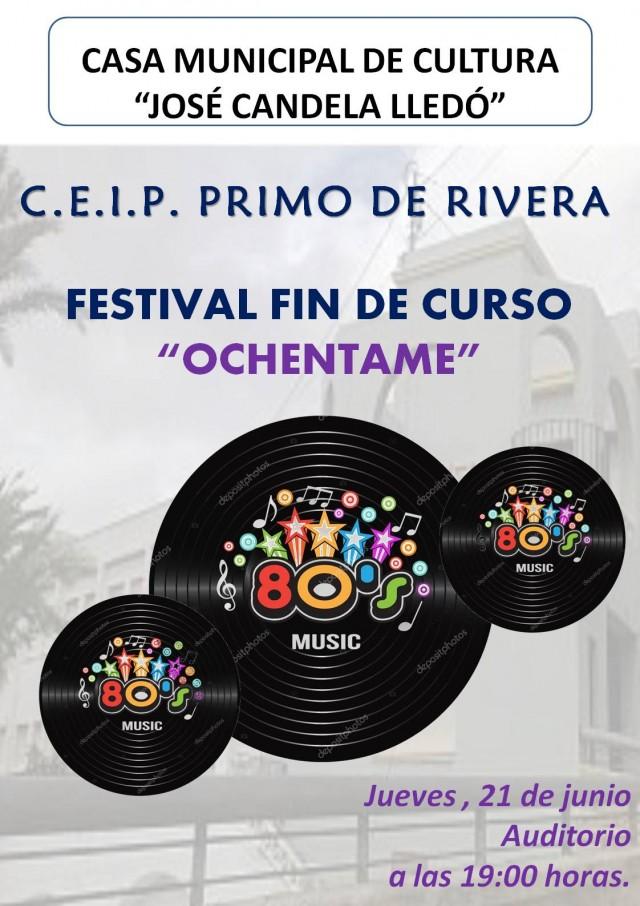 FESTIVAL FIN DE CURSO DEL COLEGIO PRIMO DE RIVERA.