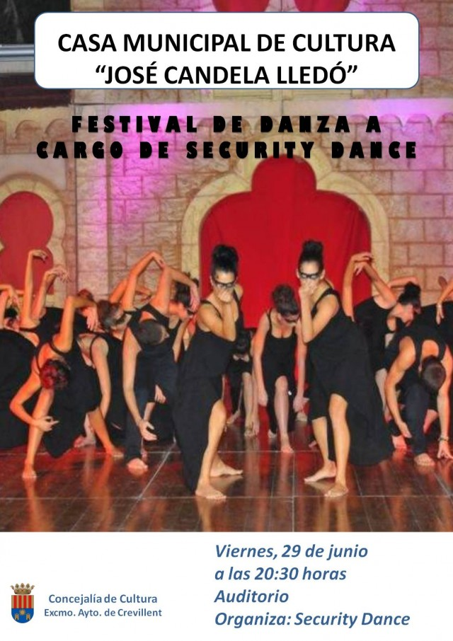 FESTIVAL DE DANZA A CARGO DE SECURITY DANCE.