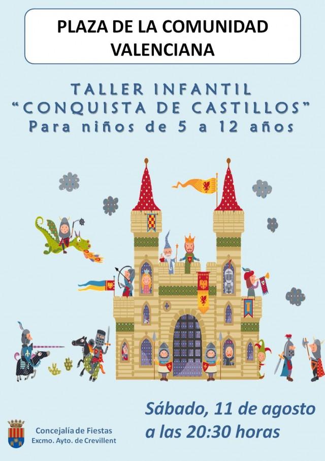 """TALLER INFANTIL """"CONQUISTA DE CASTILLOS"""""""