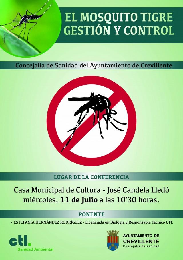CAMPAÑA INFORMATIVA PREVENCIÓN PARA EL MOSQUITO TIGRE.