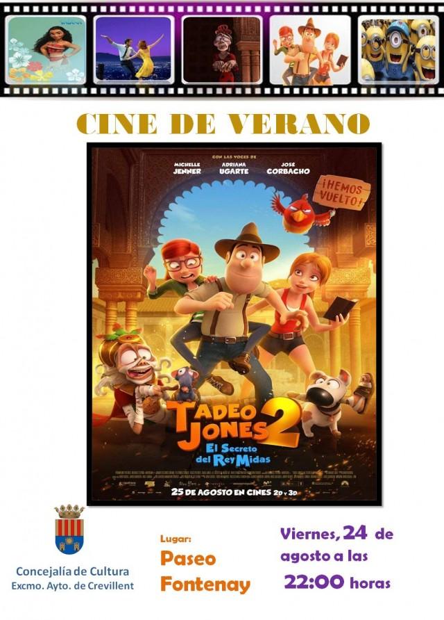 TADEO JONES 2: EL SECRETO DEL REY MIDAS.