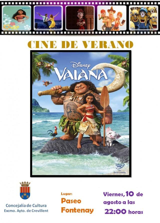 CINE DE VERANO: VAIANA