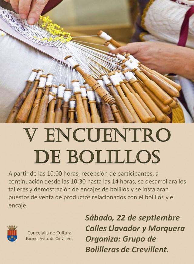 V ENCUENTRO DE BOLILLOS DE CREVILLENT.