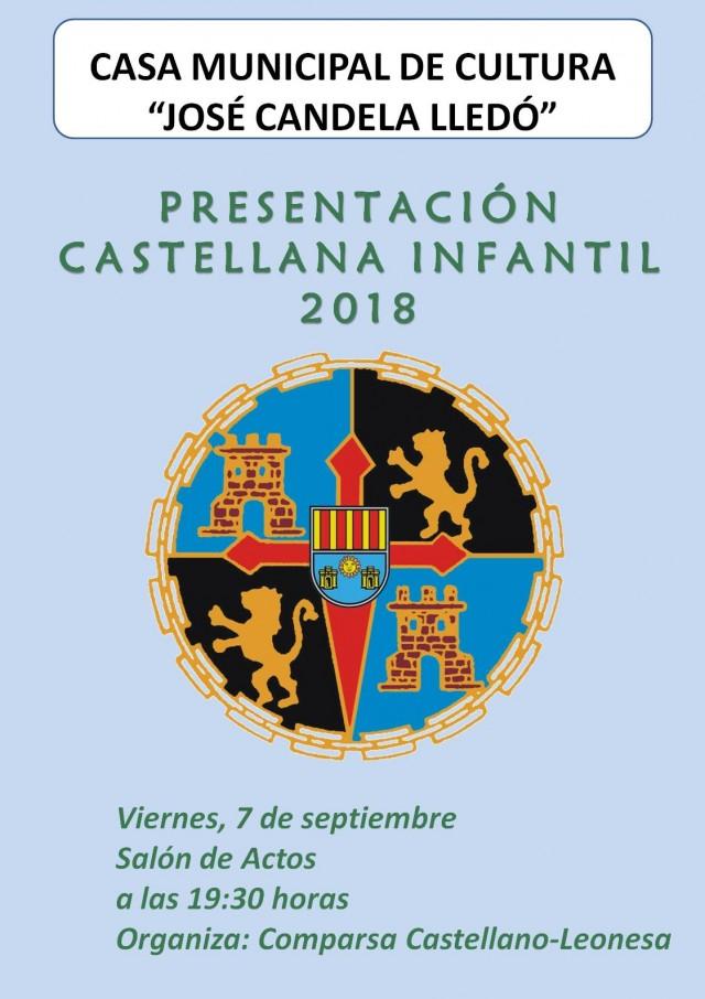 PRESENTACIÓN CASTELLANA INFANTIL 2018.
