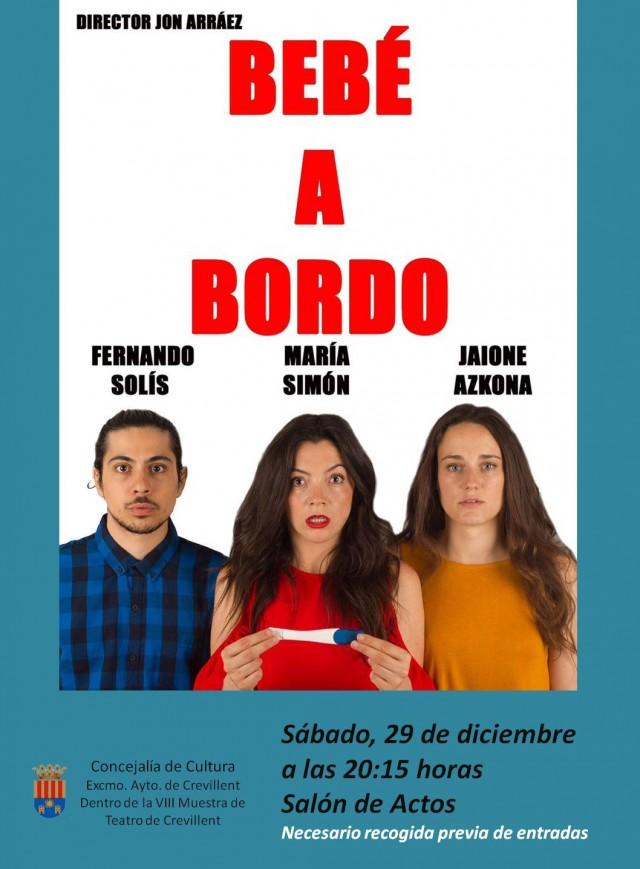 """REPRESENTACIÓN TEATRAL """"BEBÉ A BORDO"""", A CARGO DE LA COMPAÑÍA MALKOA."""