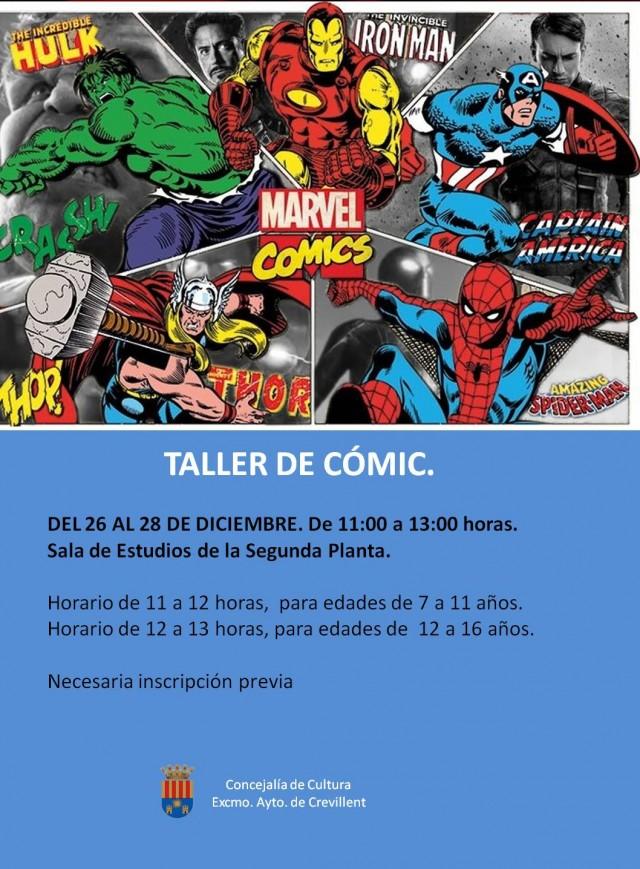 TALLER DE CÓMIC.