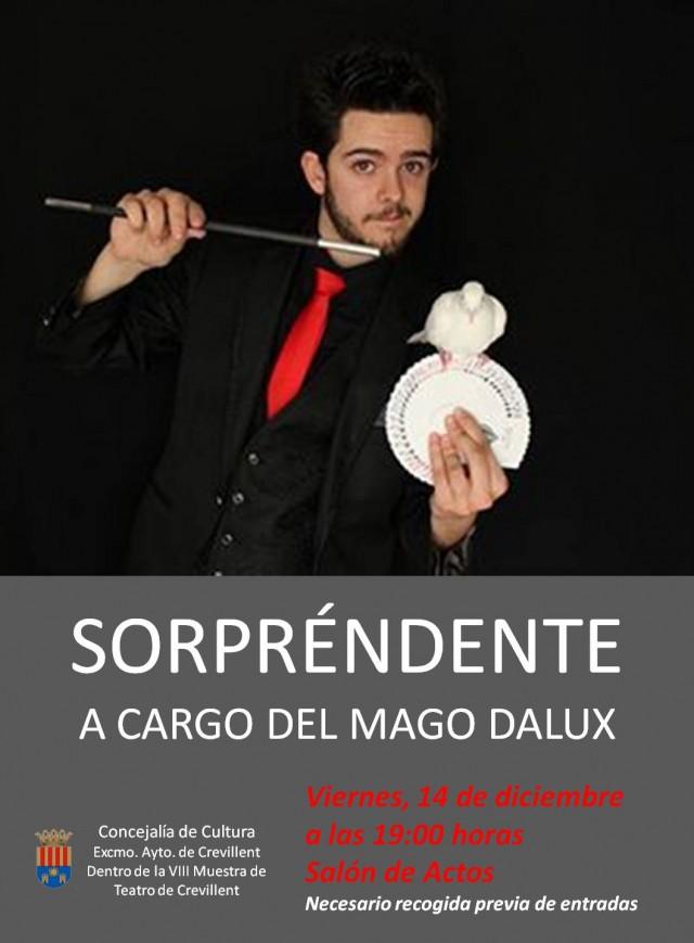 ESPECTÁCULO DE MAGIA A CARGO DEL MAGO DÁLUX.