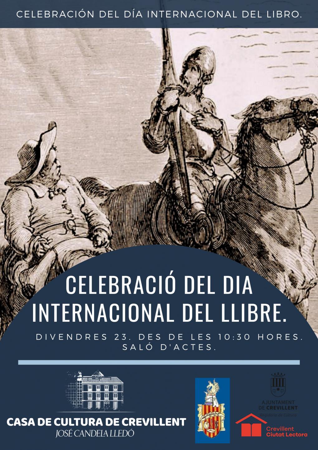 CELEBRACIÓN DEL DÍA INTERNACIONAL DEL LIBRO.