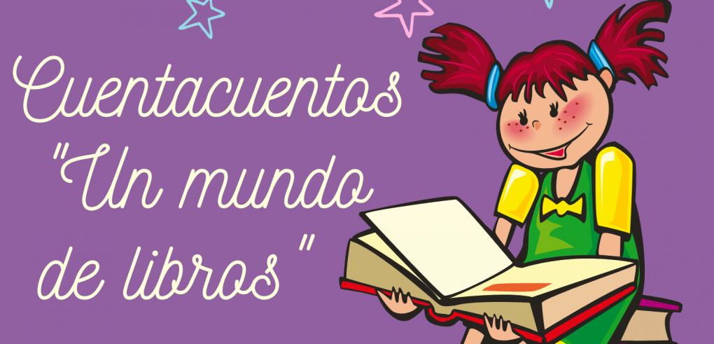 """CUENTACUENTOS """"UN MUNDO DE LIBROS"""", A CARGO DEL TALLER DE EMPLEO VILLA DE CREVILLENT VII."""