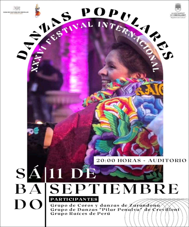XXXVI FESTIVAL INTERNACIONAL DE DANSES POPULARS.