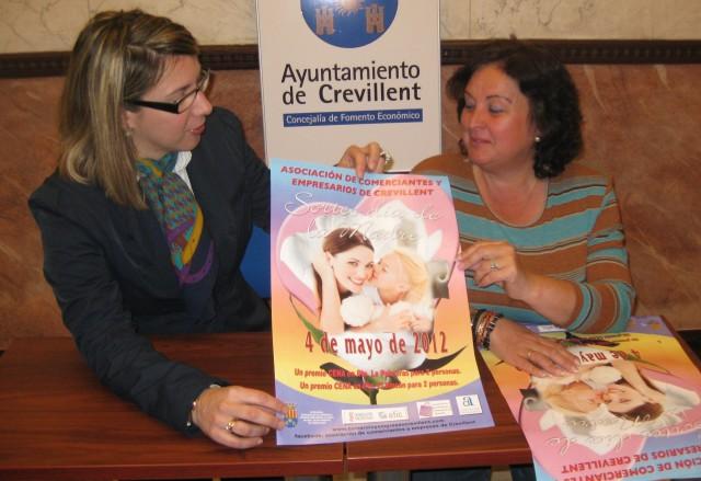 Ayuntamiento y Asociación de Comerciantes presentan la campaña del Día de la Madre