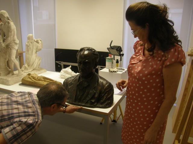 Donan al Museo Mariano Benlliure una nueva obra del insigne escultor valenciano