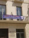 La ADL apuesta por las compras en el comercio local y lo promociona  con pancartas