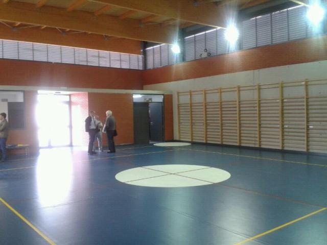 Finalizadas las obras del nuevo gimnasio en el colegio Francisco