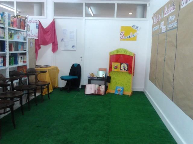Inicio del  club de lectura infantil organizado por la concejalía de cultura.