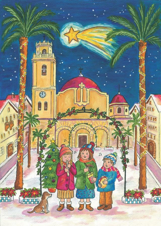 El Ayuntamiento convoca el VII Concurso Escolar de Tarjetas de Navidad