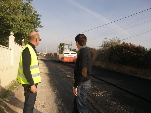 Comienzan las obras de acondicionamiento del camino de la Mangranera que financia La Diputación y el Ayuntamiento