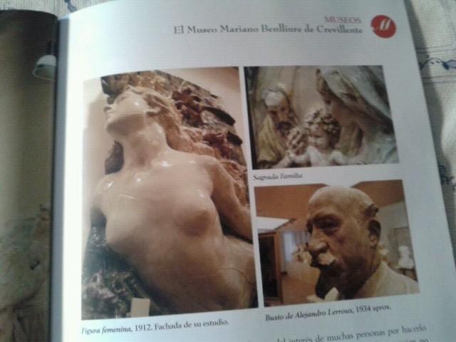 El Museo Mariano Benlliure en la revista Abante de la Conselleria de Turismo, Cultura y Deportes