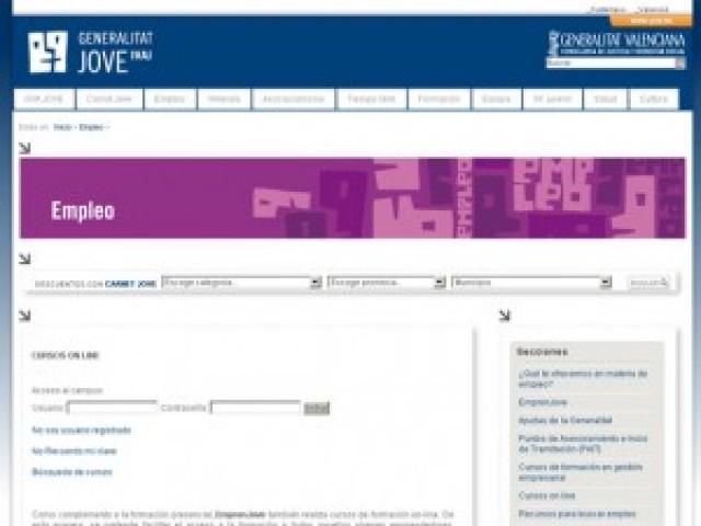 Curso online de Emprenjove del IVAJ.GVA JOVE para Crevillent.