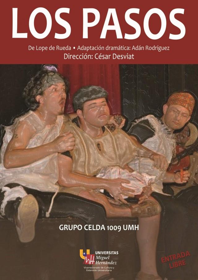 """Este viernes se representará en la Casa de Cultura """"Los pasos de Lope de Rueda"""