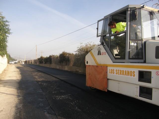 El lunes se inicia el asfaltado de diversas calles de la población