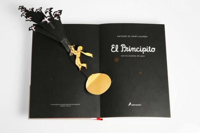Cultura publica el folleto del libro del mes de enero y destaca El Principito en su versión Pop-Up