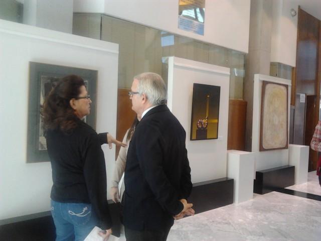 La Casa de cultura muestra una exposición de la colección municipal de arte contemporáneo