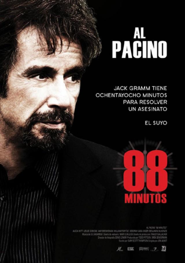 """La Casa de Cultura proyectará este viernes la película """"88 minutos"""""""