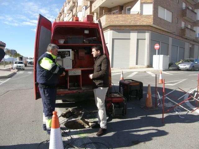 El Ayuntamiento inicia las obras para solucionar el problema de aguas fecales en la zona de Ronda Sur