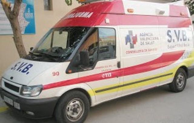 La reestructuración de las ambulancias, mantiene el tiempo de respuesta del SAMU en Crevillent