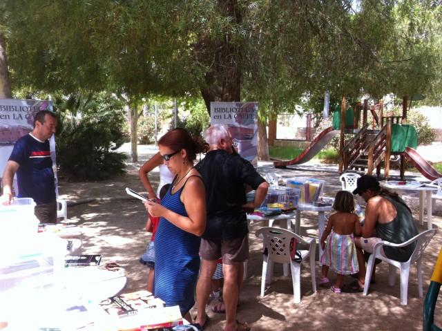 Biblioteca en la Calle continua recorriendo este mes de marzo las pedanías crevillentinas