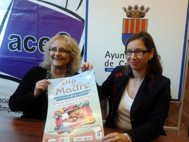 La campaña del día de la Madre organizada por la Concejalía de Comercio y ACEC sortea cheques-regalo entre sus clientes