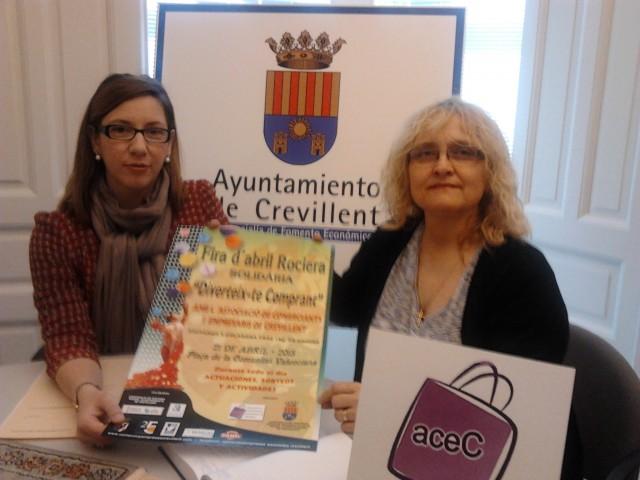 La Concejalía de Comercio y ACEC presentan la Feria d´Abril Rociera-Solidaria