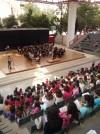 La Banda Joven de la Escuela de Música de la Sociedad Unión Musical ha ofrecido un concierto a los escolares