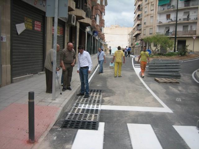 Mañana se abre al tráfico rodado el cruce entre Mariano Benlliure y Santísima Trinidad