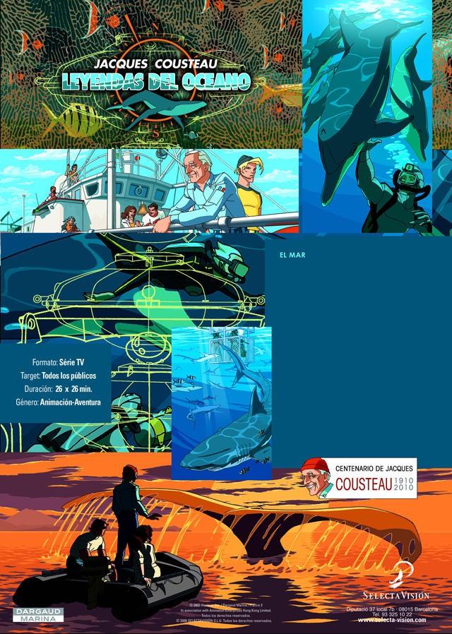 """Cultura organiza un ciclo de cine de dibujos animados de la serie """"Leyendas del océano"""""""