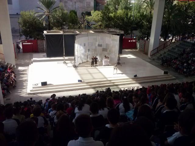 """La Concejalía de Educación celebra con teatro el día de """"La Boleta del Queixal"""""""