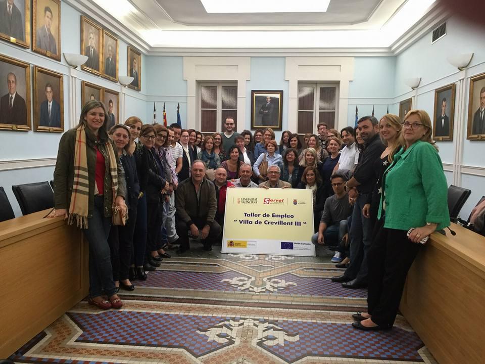 El Ayuntamiento inaugura el Taller de Empleo que da trabajo a 32 desempleados entre alumnos y profesores