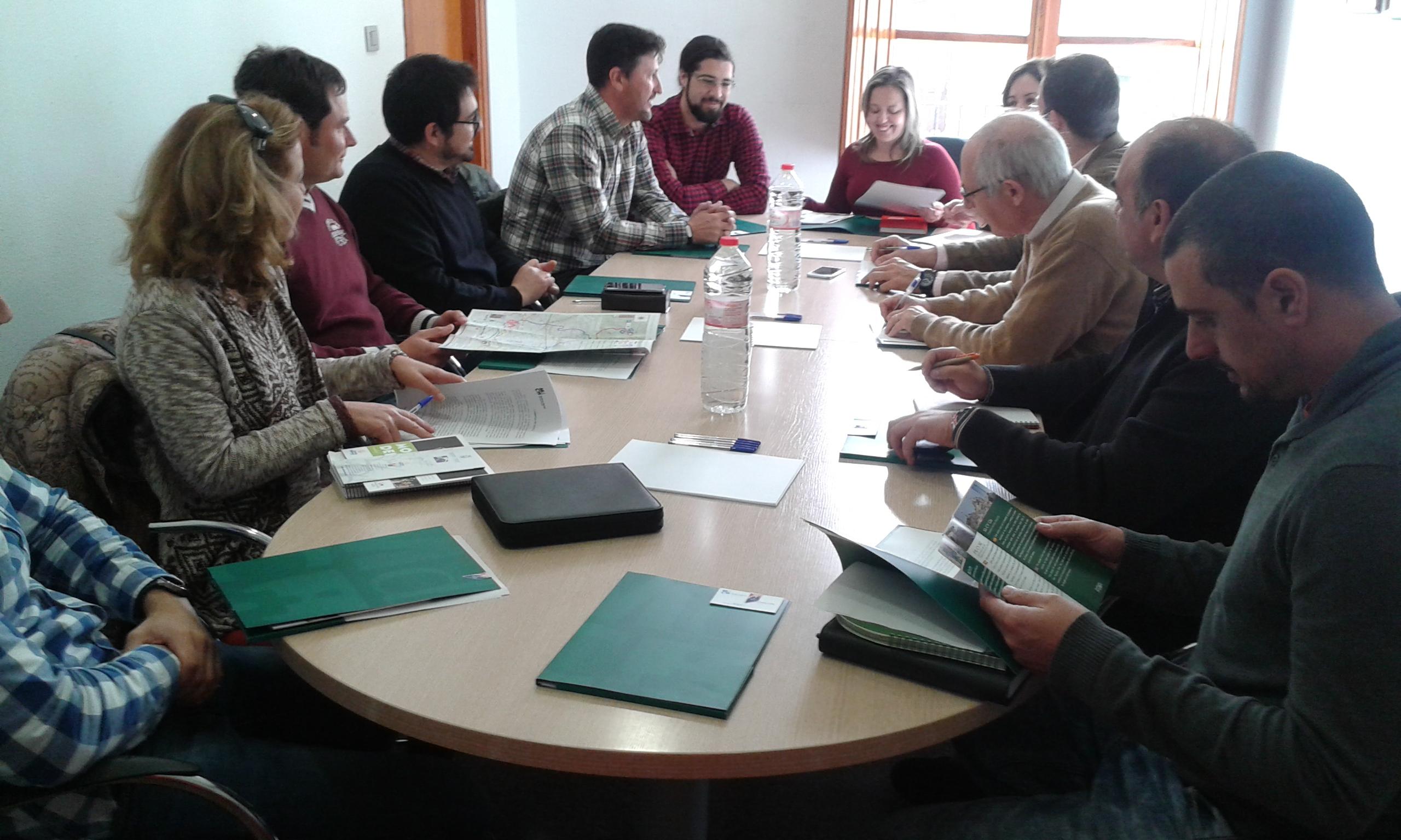 El Ayuntamiento de Crevillent asiste a una reunión sobre el Camino de San Pascual en Monforte del Cid