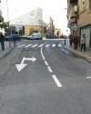 El Ayuntamiento completa el repintado de la señalización horizontal en más de una veintena de calles