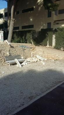 El Ayuntamiento investigará los actos vandálicos ocurridos en el Parc Nou