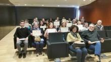 Finalizan los cursos de inglés para desempleados que se iniciaron el pasado mes de enero