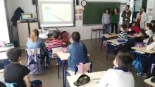 """El Ayuntamiento conciencia a los escolares sobre el uso racional del agua con la campaña educativa """"Aquología"""""""