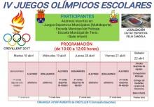 IV Juegos Olímpicos Escolares