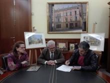 El artista Manuel Balaguer dona 14 acuarelas al Ayuntamiento de Crevillent que pasarán a la Pinacoteca Municipal