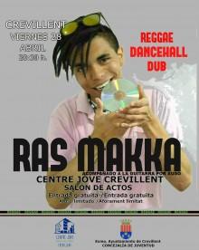 """El Centre Jove celebra una nueva jornada de """"Noches de Micro Abierto"""" con un concierto de reggae a cargo de Ras Makka"""