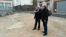 El Ayuntamiento inicia  las obras para construir una plaza en el solar de la calle Sierpe y acondicionar las vías adyacentes